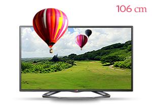 LG �ó� 3D TV 42LA6100