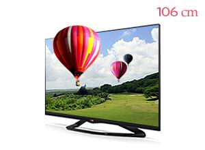 LG �ó� 3D Smart TV 42LA6650