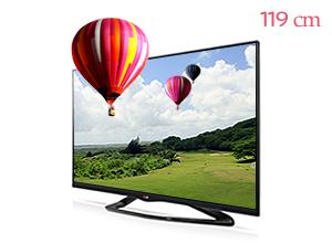 LG �ó� 3D TV 47LA6100
