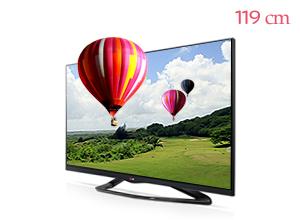 LG �ó� 3D Smart TV 47LA6650