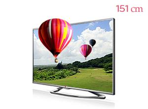 LG �ó� 3D Smart TV 60LA6250