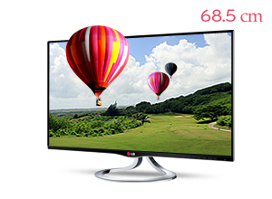LG �ó׸� 3D Smart TV����� 27MT93D