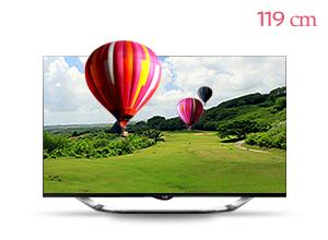 LG �ó� 3D Smart TV 47LA8600