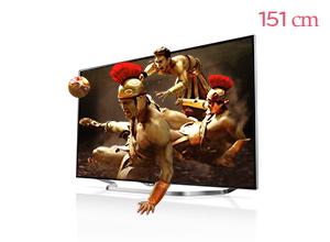 ���� ȭ�� LG ��Ʈ��HD TV 60UB8500