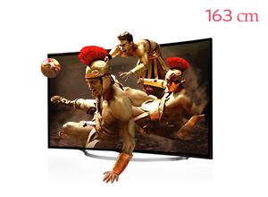 ���� ȭ�� LG ��Ʈ��HD TV 65UC9700