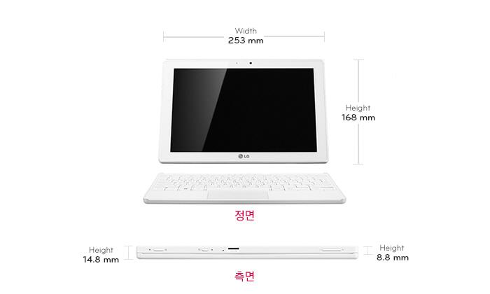LG 탭북 듀오 10T550-B530K