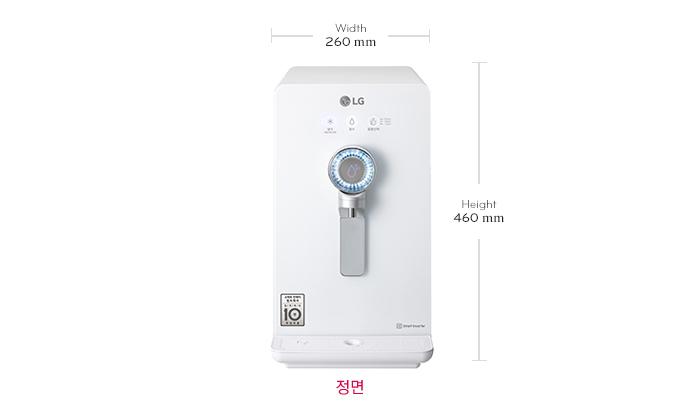 LG 퓨리케어 정수기(인버터 냉정) WD302GW