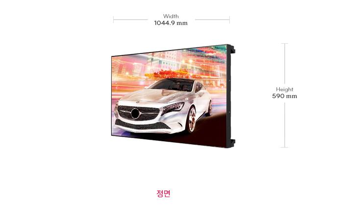 LG 디지털사이니지 Video Wall 47LV35A