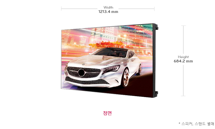 LG 디지털사이니지 Video Wall 55LV35A