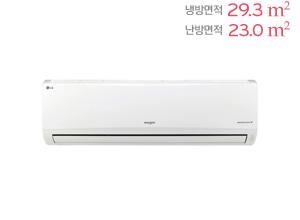 LG 휘센 벽걸이형 냉난방에어컨 SW091BM1W