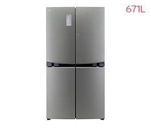 LG DIOS 상냉장 세미빌트인 냉장고 F678TS35E