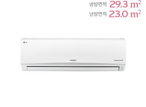 LG 휘센 벽걸이형 냉난방에어컨 SW091PC1W