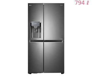 LG DIOS 얼음정수기냉장고 양문형 J789NS35